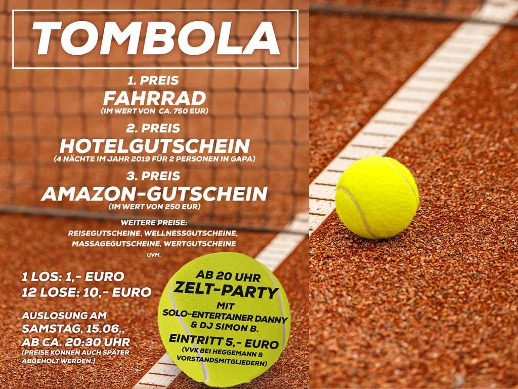 25 Jahre Tennis Borgloh - Feierei & Tombola